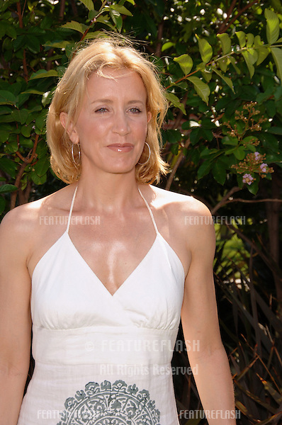 "Desperate Housewives star FELICITY HUFFMAN at the Los Angeles premiere of her new DVD ""Choose Your Own Adventure: The Abominable Snowman"". .July 22, 2006  Los Angeles, CA.© 2006 Paul Smith / Featureflash"