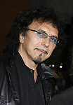 """Musicians Tony Iommi of Black Sabbath arrives to the """"Iron Man"""" premiere at Grauman's Chinese Theatre on April 30, 2008 in Hollywood, California."""