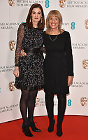 Amanda Berry and Jane Lush at the EE British Academy Film Awards (BAFTAs) Nominations Announcement, BAFTA, Piccadilly, London, England, UK, on Tuesday 09 January 2018.<br /> CAP/CAN<br /> &copy;CAN/Capital Pictures