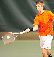 Ryan McLean -  Big Eight boys conference tennis tournament