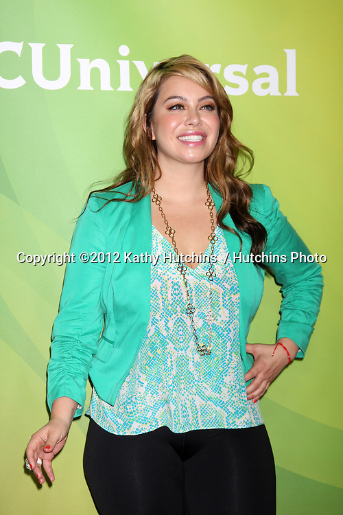 LOS ANGELES - JUL 25:  Chiquis Marin arrives at the NBC Universal Cable TCA Summer 2012 Press Tour at Beverly Hilton Hotel on July 25, 2012 in Beverly Hills, CA