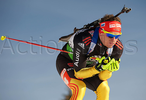 09.12.2011, Hochfilzen, Austria. The IBU Biathlon men's 10km Sprint Graf Florian ger Biathlon World Cup