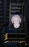 Broadway Dims The Lights In Memory of Barbara Cook at The Music Box Theatre and the Imperial Theatre on August 9, 2017 in New York City.
