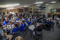 Te Aroha clubrooms after the Thames Valley premier club rugby match between Te Aroha Cobras and Hauraki North at Boyd park in Te Aroha, New Zealand on Friday, 30 March 2018. Photo: Dave Lintott / lintottphoto.co.nz