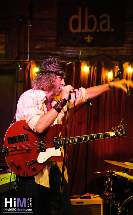 Jimbo Mathus and his band played recent gigs at Ogden After Hours and d.b.a. in New Orleans, LA.