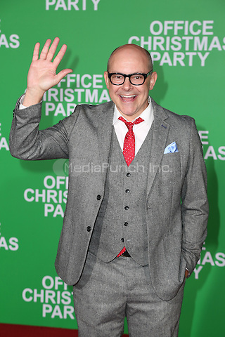 WESTWOOD, CA - DECEMBER 07: Rob Corddry arrives at the premiere of Paramount Pictures' 'Office Christmas Party' at Regency Village Theatre on December 7, 2016 in Westwood, California.  (Credit: Parisa Afsahi/MediaPunch).