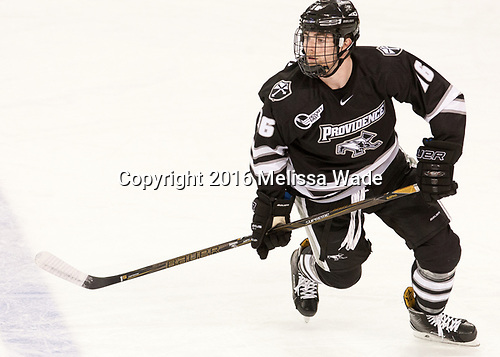 Anthony Florentino (PC - 16)[ - The Boston College Eagles defeated the visiting Providence College Friars 3-1 on Friday, October 28, 2016, at Kelley Rink in Conte Forum in Chestnut Hill, Massachusetts.The Boston College Eagles defeated the visiting Providence College Friars 3-1 on Friday, October 28, 2016, at Kelley Rink in Conte Forum in Chestnut Hill, Massachusetts.