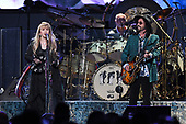 SUNRISE FL - FEBRUARY 20: Stevie Nicks, Mick Fleetwood and Mike Campbell of Fleetwood Mac perform at The BB&T Center on February 20, 2019 in Sunrise, Florida. Photo by Larry Marano © 2019