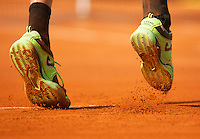 02-06-12, France, Paris, Tennis, Roland Garros, shoes,clay