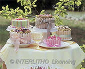 Interlitho, Alberto, STILL LIFES, photos, coloured cakes(KL16305,#I#) Stilleben, naturaleza muerta