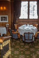 Europe/France/Rhone-Alpes/73/Savoie/Courchevel: Restaurant Pierre Gagnaire pour les Airelles au Jardin Alpin