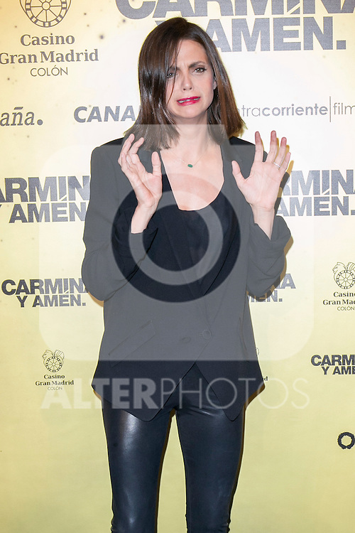 "Spanish actress Macarena Gomez attend the Premiere of the movie ""Carmina y Amen"" at the Callao Cinema in Madrid, Spain. April 28, 2014. (ALTERPHOTOS/Carlos Dafonte)"