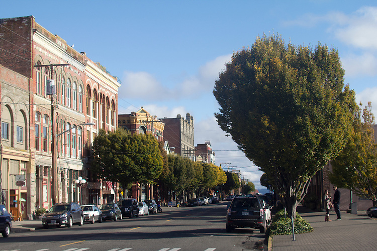 Port Townsend, Water Street, Historic District, Victorian architecture,