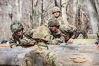 West Point (EUA), 10/04/2019 - Competição / Militar - Soldados da equipe da Grã Bretanha durante preparação para o Sandhurst West Point 2019 na U.S Military Academy na cidade de West Point nos Estados Unidos nesta quarta-feira, 10. (Foto: William Volcov/Brazil Photo Press)