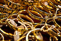Inlaid gold bracelets, Toledo, Spain