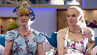 Amanda Barrie and India Willoughby<br /> Celebrity Big Brother 2018 - Day 8<br /> *Editorial Use Only*<br /> CAP/KFS<br /> Image supplied by Capital Pictures