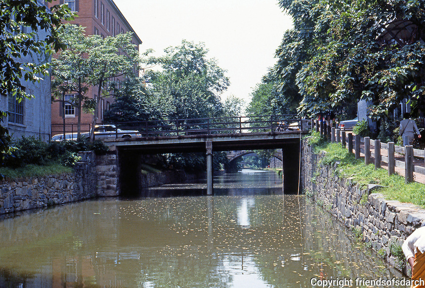 D.C. : Georgetown--Chesapeake & Ohio Canal, 1828-1850. Photo '85.