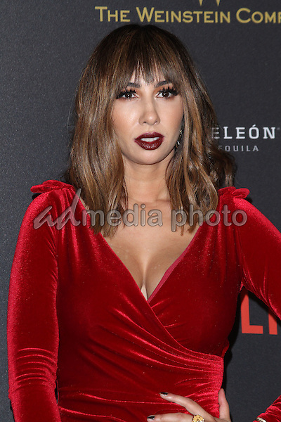 10 January 2016 - Los Angeles, California - Jackie Cruz. 2016 Weinstein Company & Netflix Golden Gloves After Party held at the Beverly Hilton Hotel. Photo Credit: AdMedia