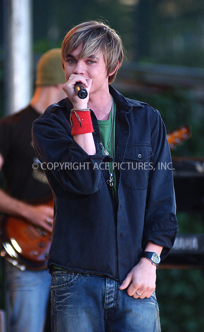 WWW.ACEPIXS.COM . . . . . ....NEW YORK, JUNE 24, 2005....Jesse McCartney performs live on Good Morning America in Bryant Park.....Please byline: KRISTIN CALLAHAN - ACE PICTURES.. . . . . . ..Ace Pictures, Inc:  ..Craig Ashby (212) 243-8787..e-mail: picturedesk@acepixs.com..web: http://www.acepixs.com