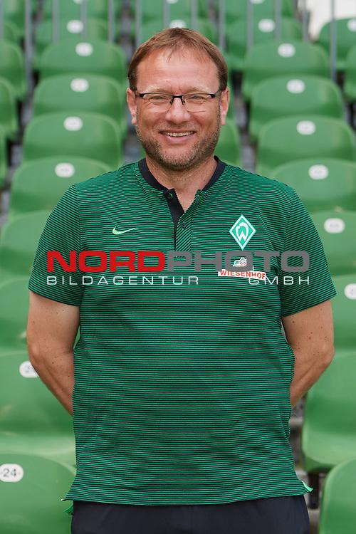 Fu&szlig;ball, GER, /3.Liga, Portr&auml;ttermin 2017/2018,<br /> <br /> Thomas Horsch (Werder Bremen)<br /> <br /> Foto &copy; nordphoto / Kokenge