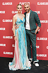 Italian influencer Chiara Ferragni (l) and the Italian make-up artist Manuele Mameli during the Dinner of Glamour Magazine in her Honor. June 27, 2019. (ALTERPHOTOS/Acero)