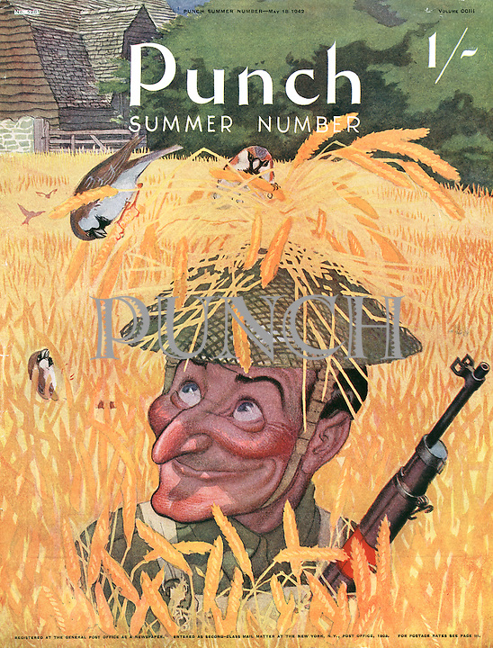 Punch Summer Number 1942 (front cover)