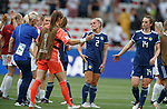 09.06.2019 England v Scotland Women: Dejection from Kirsty Smith and Chloe Arthur