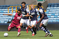 Olatunde Bayode of Burnley gets ready to take a shot at the Millwall goal during Millwall Under-23 vs Burnley Under-23, Professional Development League Football at The Den on 9th August 2019