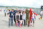 Galway Gang on Day 2 of the Oxegen Festival, Punchestown, Co.Kildare...(Photo credit should read Jenny Matthews www.newsfile.ie)....This Picture has been sent you under the conditions enclosed by:.Newsfile Ltd..The Studio,.Millmount Abbey,.Drogheda,.Co Meath..Ireland..Tel: +353(0)41-9871240.Fax: +353(0)41-9871260.GSM: +353(0)86-2500958.email: pictures@newsfile.ie.www.newsfile.ie.