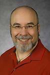 Andre Berthiaume, Associate Professor, College of Computing and Digital Media, DePaul University, is pictured in a studio portrait Sept. 21, 2017. (DePaul University/Jeff Carrion)