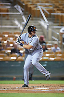 Salt River Rafters Grayson Greiner (15), of the Detroit Tigers organization, during a game against the Glendale Desert Dogs on October 19, 2016 at Camelback Ranch in Glendale, Arizona.  Salt River defeated Glendale 4-2.  (Mike Janes/Four Seam Images)