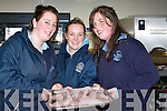 ..CHEFS: Katriona Marlin, Michelle Sugrue and Louise O'Brien from Castleisland Presentation testing out their cooking skills at the ITT Open Day on Monday in the kitchen......   Copyright Kerry's Eye 2008