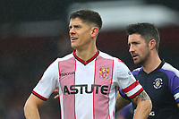 Alex Revell of Stevenage during Stevenage vs Luton Town, Sky Bet EFL League 2 Football at the Lamex Stadium on 10th February 2018