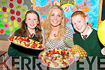 HEALTHY: Geraldine Shanahan (Teacher) with Sara Fitzgerald and Darren Quinn, pupils from Firies National School, who have been officialy recognised as a Health Promotion School by the HSE..