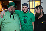 Michael Dale, Marshall Monticelli and Ninja Dave on St. Patrick's Day in Reno on Friday, March 17, 2017.