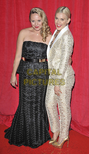 LONDON, ENGLAND - MAY 24: Charlie Brooks &amp; Ashley Roberts attend the British Soap Awards 2014, Hackney Empire, Mare St., on Saturday May 24, 2014 in London, England, UK.<br /> CAP/CAN<br /> &copy;Can Nguyen/Capital Pictures