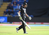 Jun 6th, The SSE SWALEC, Cardiff, Wales; ICC Champions Trophy; England versus New Zealand;  Mitchell Santner of New Zealand after being dismissed