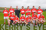 The Dingle team taking part of the Tommy Griffin over-35s football tournament in Dingle on Saturday noon.