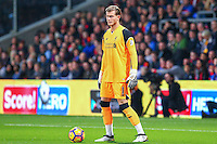Loris Karius of Liverpool during the EPL - Premier League match between Crystal Palace and Liverpool at Selhurst Park, London, England on 29 October 2016. Photo by Steve McCarthy.