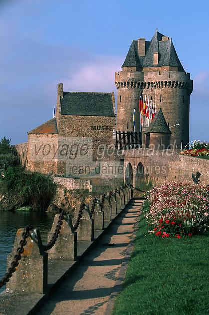 Europe/France/Bretagne/35/Ille-et-Vilaine/Saint-Malo/Saint-Servan: La Tour Solidor