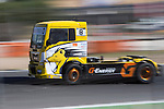 French driver Anthony Janiec belonging Portugese team Lion Truck Racing during the third race R3 of the XXX Spain GP Camion of the FIA European Truck Racing Championship 2016 in Madrid. October 02, 2016. (ALTERPHOTOS/Rodrigo Jimenez)