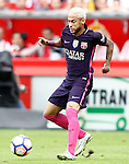 FC Barcelona's Neymar Santos Jr during La Liga match. September 24,2016. (ALTERPHOTOS/Acero)