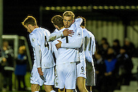 Monday 16 January 2017<br /> Pictured: <br /> Re: During the Swansea City U23's match against Newcastle United U23's at the Landore Training facility, Swansea Wales UK
