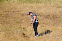 Paul Dunne (IRL) on the 10th fairway during Round 1 of the 2015 Alfred Dunhill Links Championship at Kingsbarns in Scotland on 1/10/15.<br /> Picture: Thos Caffrey | Golffile
