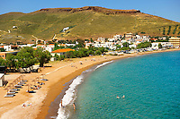 Beach of Agios Nikolaos Bay, Korissia,  Kea Greek Cyclades Islands