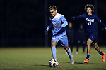 CARY, NC - NOVEMBER 19: North Carolina's Alan Winn. The University of North Carolina Tar Heels hosted the UNCW Seahawks on November 19, 2017 at Koka Booth Stadium in Cary, NC in an NCAA Division I Men's Soccer Tournament Second Round game. UNC won the game 2-1.