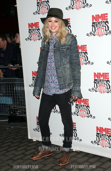 Ladyhawke arriving for the NME Awards 2012 held at The Brixton Academy, London. 29/02/2012 Picture by: Henry Harris / Featureflash