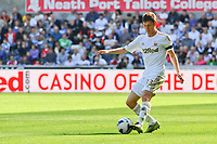 Saturday 22 September 2012 <br /> Pictured: Ben Davies<br /> Barclays Premiership, Swansea City v Everton at the Liberty Stadium, south Wales.