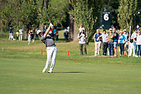Graeme McDowell (NIR) in action on the 8th hole during the third round of the 76 Open D'Italia, Olgiata Golf Club, Rome, Rome, Italy. 12/10/19.<br /> Picture Stefano Di Maria / Golffile.ie<br /> <br /> All photo usage must carry mandatory copyright credit (© Golffile | Stefano Di Maria)