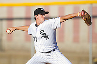 Starting pitcher Jacob Petricka #37 of the Bristol White Sox in action against the Greeneville Astros at Boyce Cox Field July 1, 2010, in Bristol, Tennessee.  Petricka was selected in the 2nd round of the 2010 First Year Player Draft by the Chicago White Sox.  Photo by Brian Westerholt / Four Seam Images